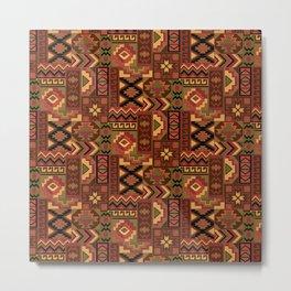 Southwest Geometric Metal Print