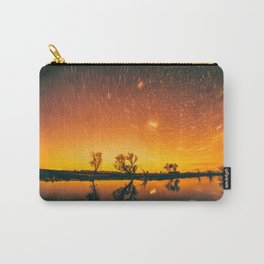World Spins Madly On Carry-All Pouch
