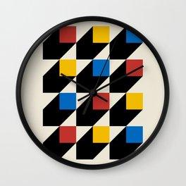 Vintage poster-Bauhaus Juli-September 1923. Wall Clock
