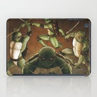 tmnt iPad Cases featuring TMNT by Ryan Caskey