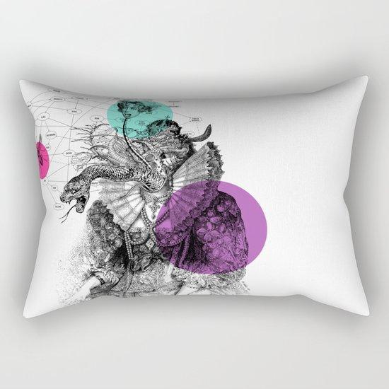 Le rêve de Madame K. Rectangular Pillow