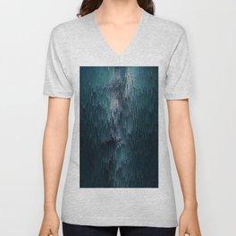 Frost Glitches Unisex V-Neck