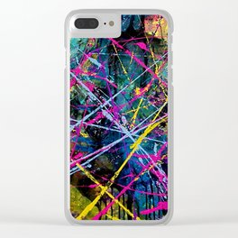 Brain Activities Clear iPhone Case