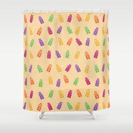 Gummy Hippos Shower Curtain
