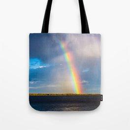 Magnificent rainbow Tote Bag