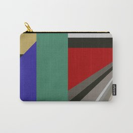 TRAVEL TO NOWHERE ABSTRACT Carry-All Pouch