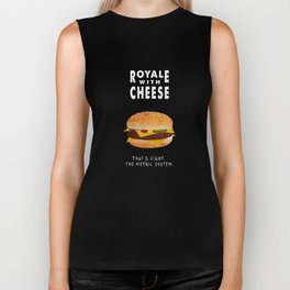 Pulp Fiction - royale with cheese Biker Tank