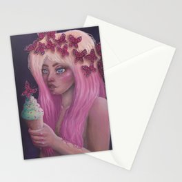 Butterfly Queen Stationery Cards