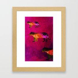 Cats of Prey Framed Art Print