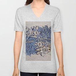 Art work of William Morris 4 Unisex V-Neck