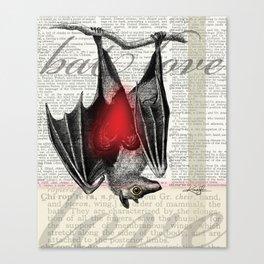 Bat Love by Kathy Morton Stanion Canvas Print