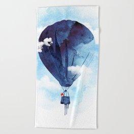 Bye Bye Balloon Beach Towel