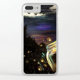 Firefly Sky Clear iPhone Case