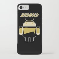 android iPhone & iPod Cases featuring Android by dextifire