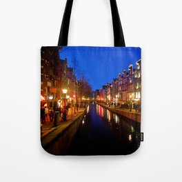 Red Lights Tote Bag