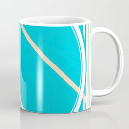 Leaf - circle/line graphic Coffee Mug