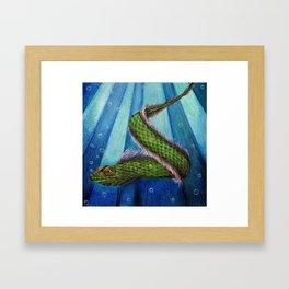 Elementus Framed Art Print