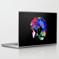 afro Laptop & iPad Skins featuring Afro by SmartyArt Chick