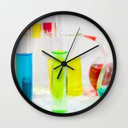 Laboratory chemical liquid elements  Wall Clock