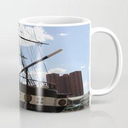 Old Glory - USS Constellation Coffee Mug