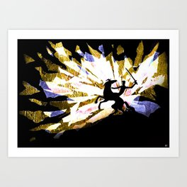 Riding Out Of The Dawn Art Print
