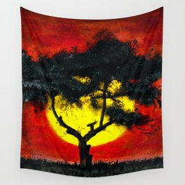 Dream Places to Visit Wall Tapestry