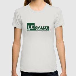Legalize Marijuana 420 T-shirt