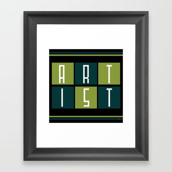 ARTIST Framed Art Print