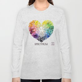 Spectrum Rainbow Heart Long Sleeve T-shirt