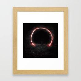 Kaamos II Framed Art Print
