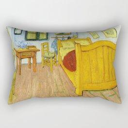 1888-Vincent van Gogh-The Bedroom-72x90 Rectangular Pillow