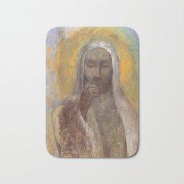 Christ In Silence  - Odilon Redon Bath Mat
