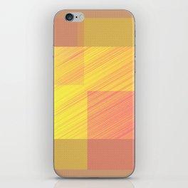 Abstract hot desert iPhone Skin