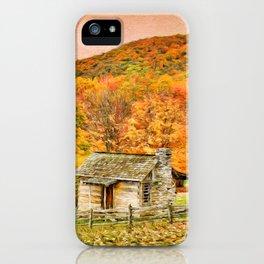 An Autumn View iPhone Case