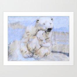 Mama Bear - 2 Art Print