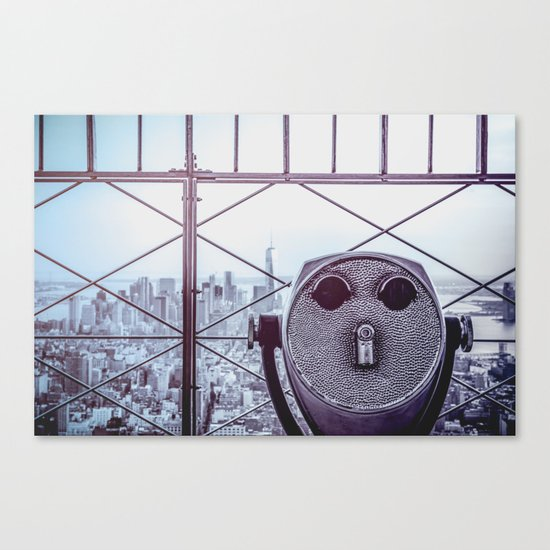 Perfect New York Night - City Life Canvas Print