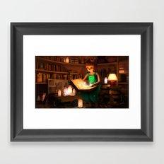 Lily's Magic Room Framed Art Print