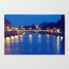 Paris by Night I Canvas Print