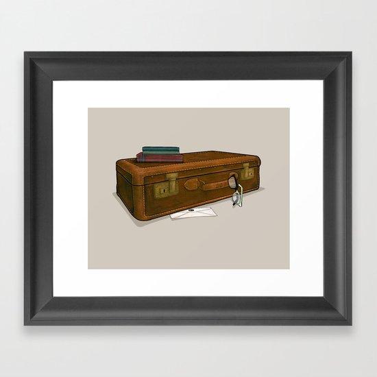 LOST Luggage / Sawyer Framed Art Print