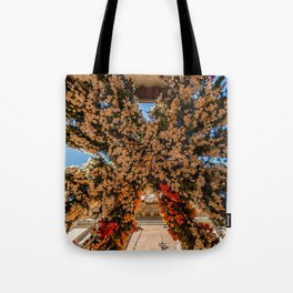 Montisola flower festival on island of Montisola Tote Bag