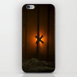 Fog Crossing iPhone Skin