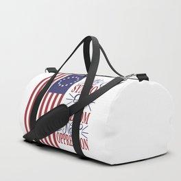 Betsy Ross 1776 Flag:  Still a Symbol Of Freedom Not Oppression Duffle Bag