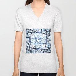 Kaleidoscope -Trees Unisex V-Neck