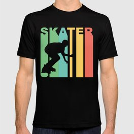 Retro Style Skater Inline Skating T-shirt