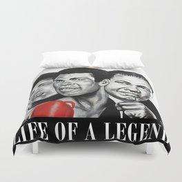 Life of a Legend Duvet Cover