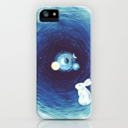 Down The Rabbit Hole iPhone Case