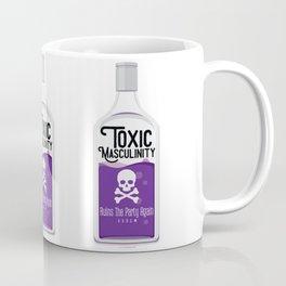 Toxic Masculinity Ruins The Party Again (Purple) Coffee Mug