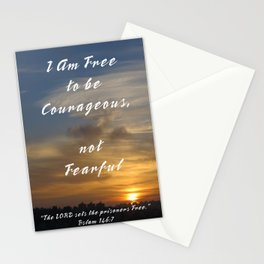Be Courageous Stationery Cards