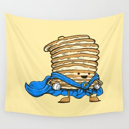 Captain Pancake Wall Tapestry
