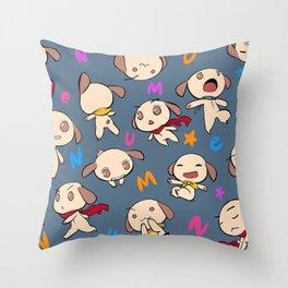nemu*nemu Throw Pillow